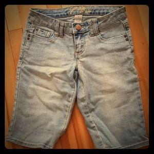 Garage size 27 jean shorts!